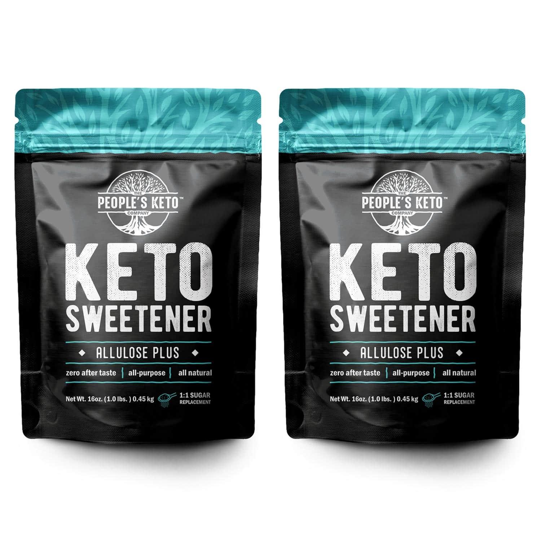 Allulose Sweetener, 0g net carb, 1:1 Sugar Substitute