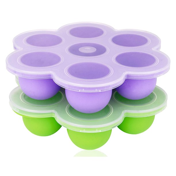 [2 Pack] Silicone Egg Bites Molds For Instant Pot