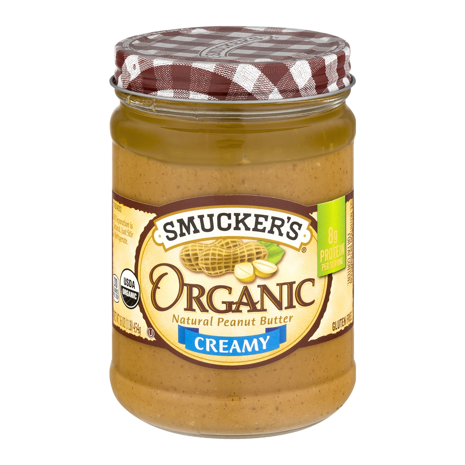 Smucker's Organic Creamy Peanut Butter