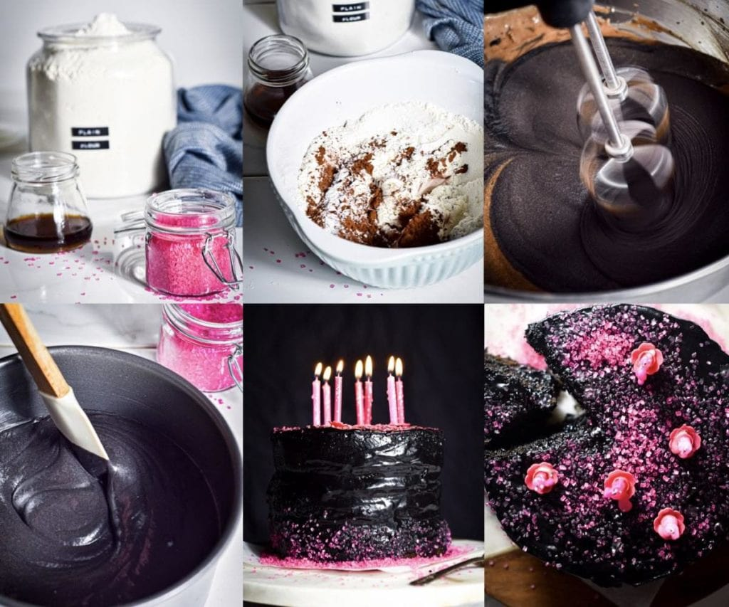 Spooky but absolutely tasty. Here's how to make this perfect black velvet cake without artificial food coloring. Perfect for Halloween.