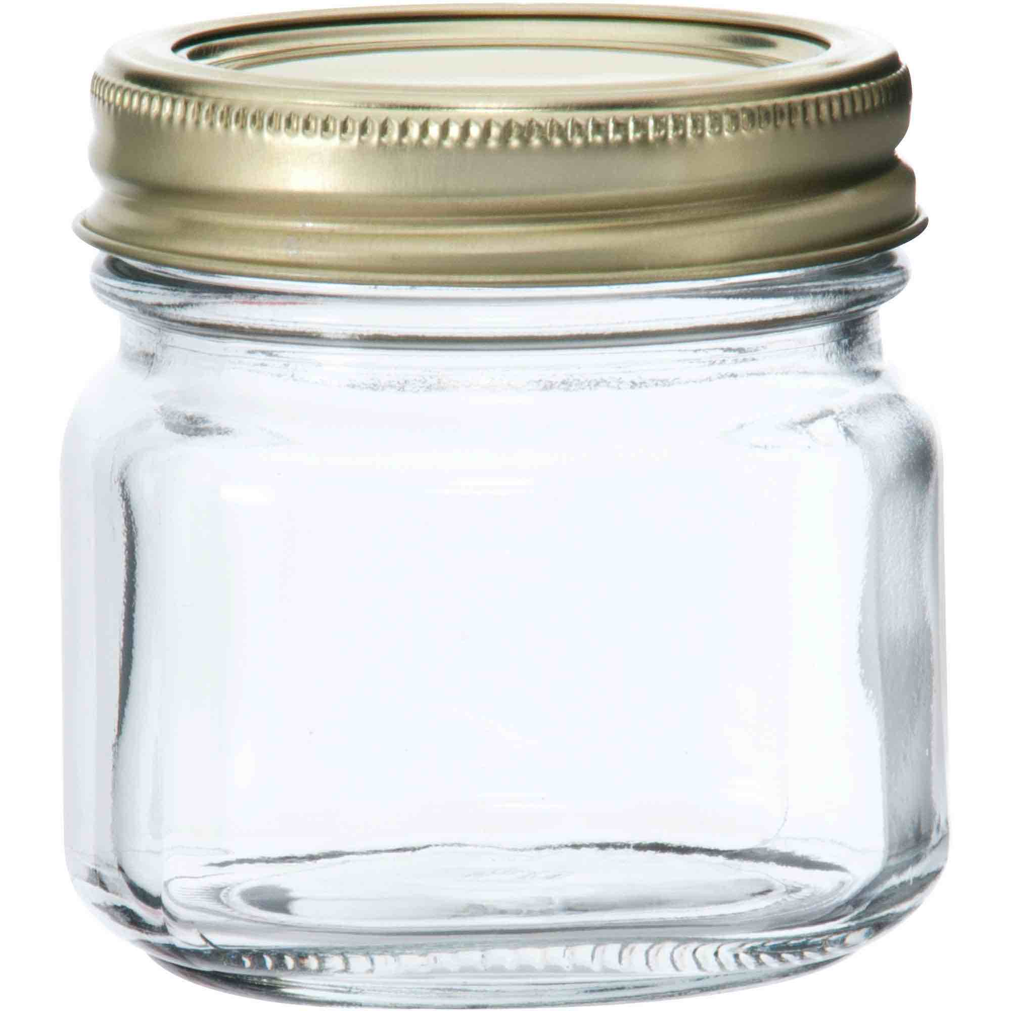 Half-pint Glass Canning Jar Set