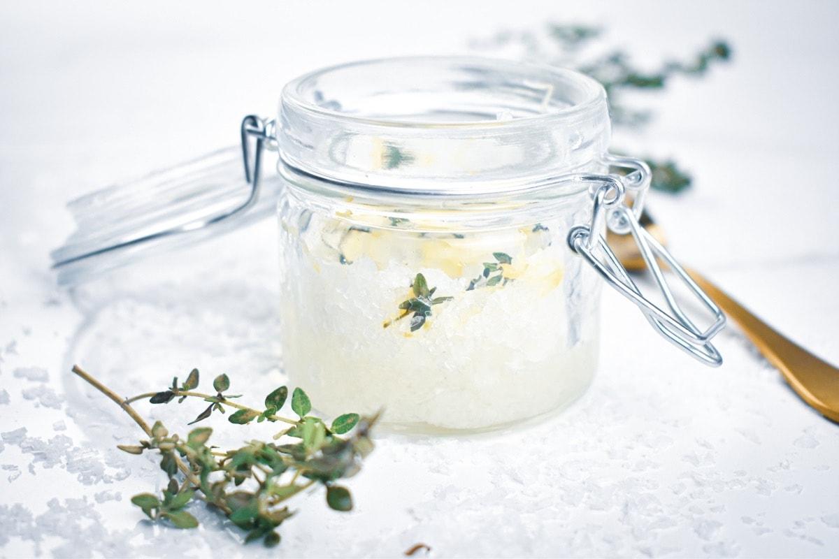 Lemon Thyme Salt Scrub 10 1200