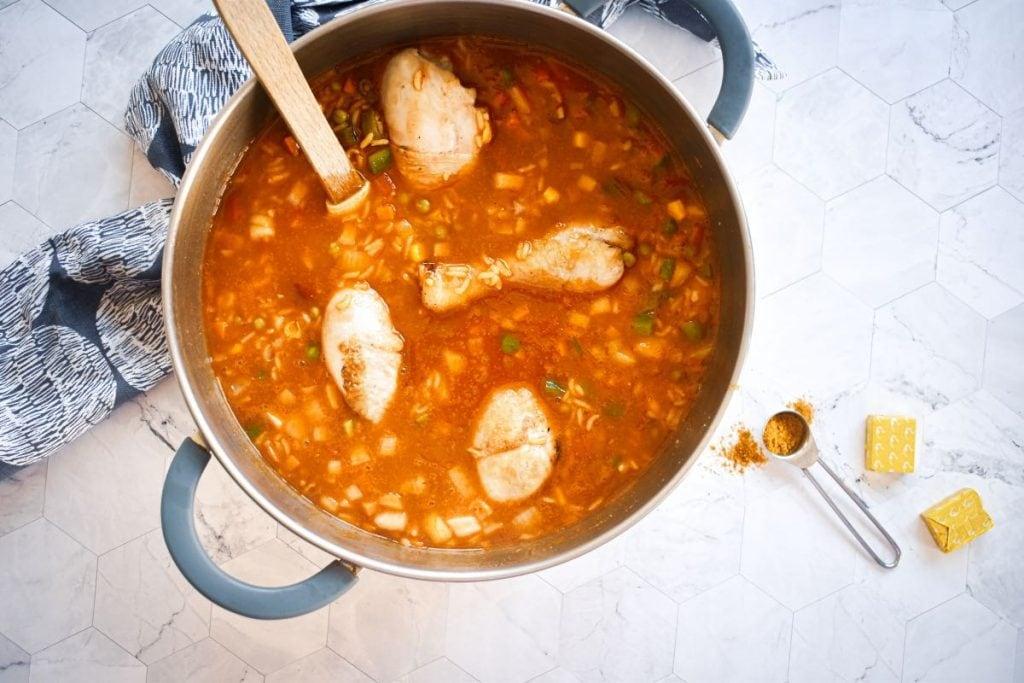 Nigerian Jollof Rice Tomato Stew