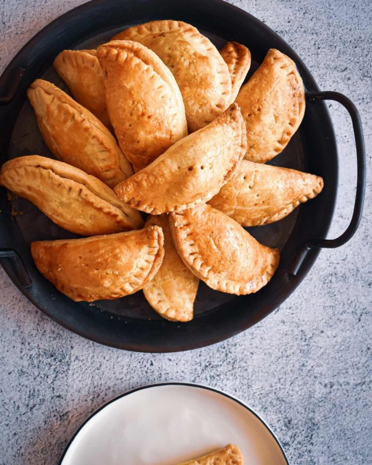 Nigerian Meat Pie is one of, if not, the most popular snack in Nigeria. It is the perfect intersection of buttery, crispy, shortcrust pastry filled with juicy minced beef and vegetable filling.
