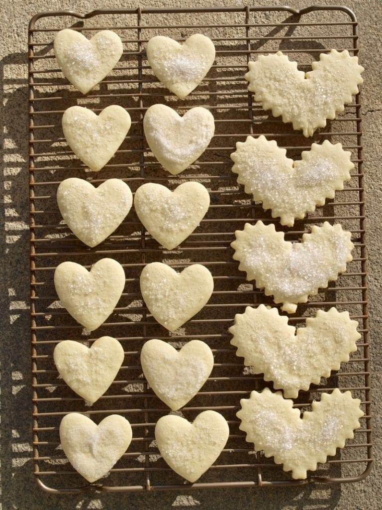 Valentine sugar cookie bracelets